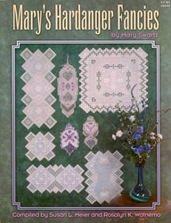Hardangerpatroon Mary's Hardanger Fancies - Nordic Needle