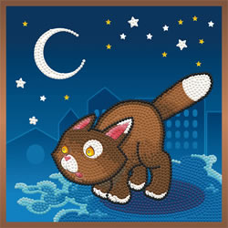 Diamond Dotz Fearless Cat - Needleart World