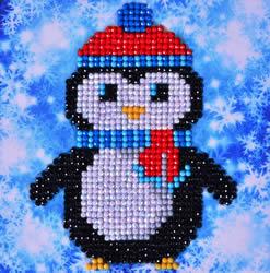 Diamond Dotz Christmas Penguin Picture - Needleart World
