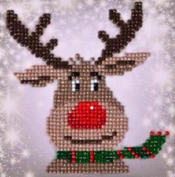 Diamond Dotz Christmas Reindeer Picture - Needleart World