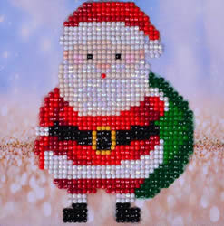 Diamond Dotz Santa Claus Sack Picture - Needleart World