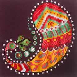 Diamond Dotz Paisley Groove - Needleart World