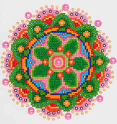 Diamond Dotz Flower Mandala - Needleart World