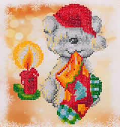 Diamond Dotz Puppy Stocking - Needleart World