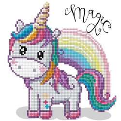 Diamond Dotz Magic Rainbow - Needleart World