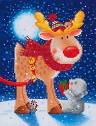 Diamond Dotz Reindeer Gift - Needleart World