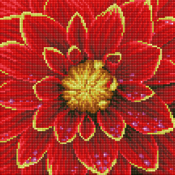 Diamond Dotz Dahlia - Needleart World