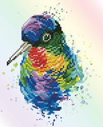 Diamond Dotz Rainbow Feathers - Needleart World