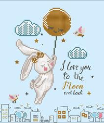 Diamond Dotz Love You to the Moon & Back - Needleart World