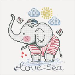 Diamond Dotz Love Sea - Needleart World