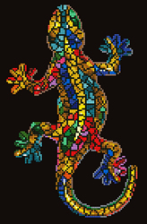 Diamond Dotz Gekko Paua - Needleart World