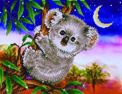 Diamond Dotz Koala Snack - Needleart World