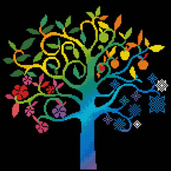 Diamond Dotz Wishing Tree - Needleart World