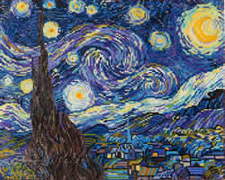 Diamond Dotz Starry Night (Van Gogh) - Needleart World