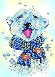 Diamond Dotz Polar Dude - Needleart World