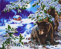 Diamond Dotz Rambling Bear - Needleart World