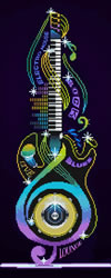 Diamond Dotz Guitar Icon - Needleart World