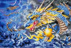 Diamond Dotz Mythical Dragon - Needleart World