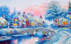 Diamond Dotz Winter Village - Needleart World
