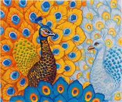 Diamond Dotz Romantic Peacocks - Needleart World