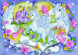 Diamond Dotz Princess Magic - Needleart World