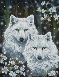 Diamond Dotz Winter Wolves - Needleart World