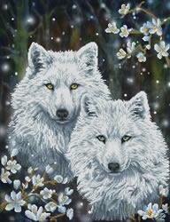 Diamond Dotz Winter Wolves - Needleart World