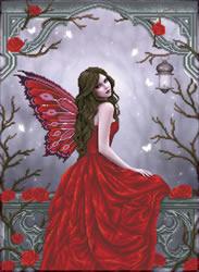 Diamond Dotz Winter Rose Fairy - Needleart World