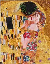 Diamond Dotz The Kiss (Klimt) - Needleart World