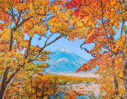 Diamond Dotz Autumn Mountain - Needleart World