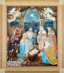 Diamond Dotz Nativity Scene - Needleart World