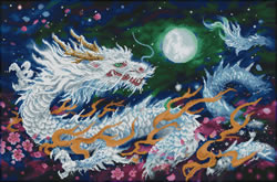 Diamond Dotz Dragon Flame - Needleart World