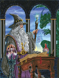 Diamond Dotz Wizards Emissary - Needleart World