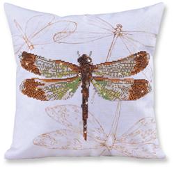 Diamond Dotz Pillow - Dragonfly Earth - Needleart World
