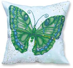 Diamond Dotz Kussen - Papillon Vert - Needleart World