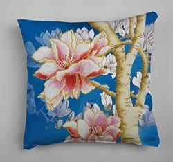 Diamond Dotz Magnolias on blue 2 - Needleart World