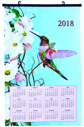 Diamond Dotz Hummingbird Calendar - Needleart World