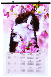 Diamond Dotz Kitten Calendar - Needleart World