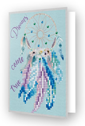 Diamond Dotz Greeting Card Dreams Come True - Needleart World