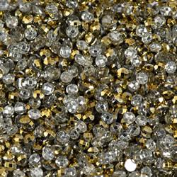 Diamond Dotz 12 g x 2.8mm DOTZ - Classic  Gold  Metallic - Needleart World