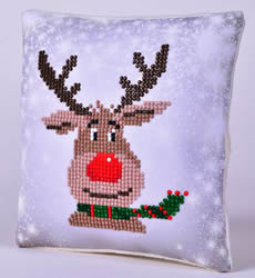 Diamond Dotz Christmas Reindeer Pillow - Needleart World