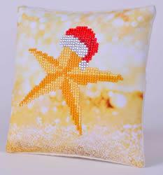 Diamond Dotz Christmas Star Pillow - Needleart World