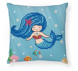 Diamond Dotz Pearl Swimmer Mini Pillow - Needleart World