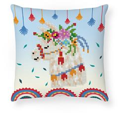 Diamond Dotz Llama Party Mini Pillow - Needleart World