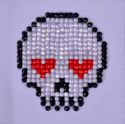 Diamond Dotz Sugar Skull - Needleart World
