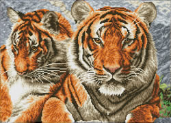 Diamond Dotz Tigers - Needleart World