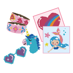 Diamond Dotz Dotzies Girl Variety Kit 6 projects - Pink - Needleart World