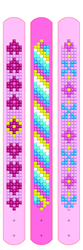 Diamond Dotz Dotzies 3 Bracelets Multi Pack - Pinks - Needleart World