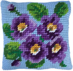 Kussen borduurpakket Primrose Bouquet - Needleart World