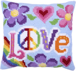 Kussen borduurpakket Love Always - Needleart World